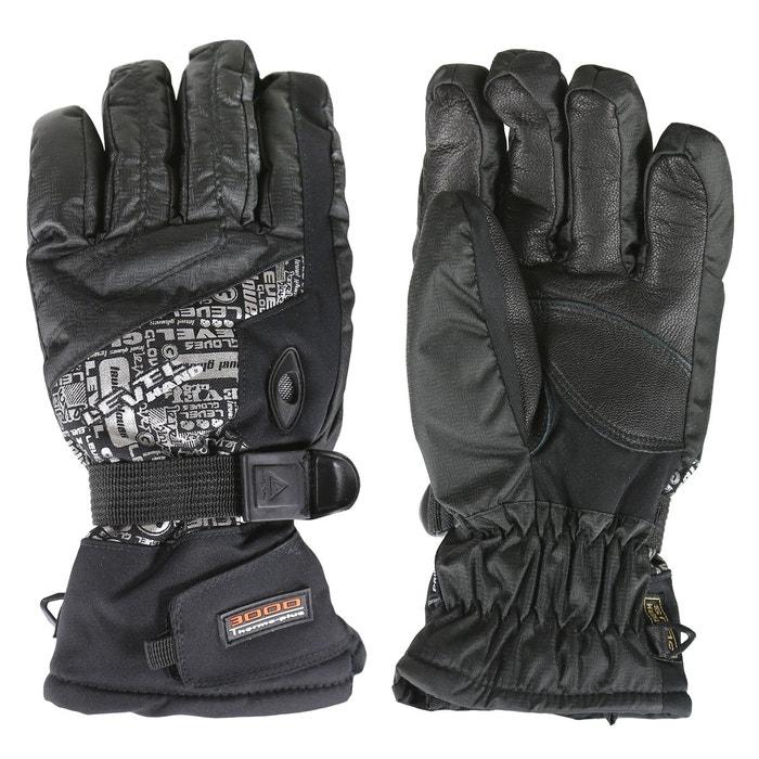 237f429d62ecd Alpine gants ski unisexe noir Level | La Redoute