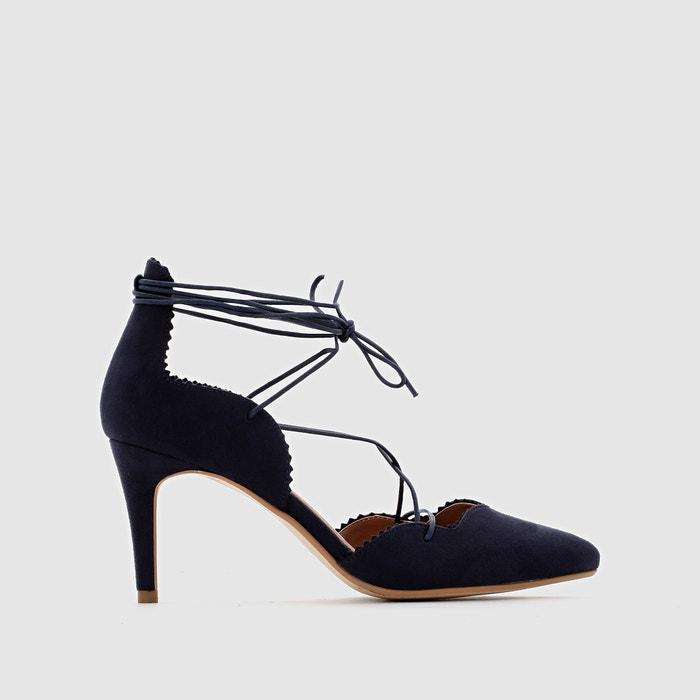 Image Lace-Up Stiletto Heel Shoes R édition