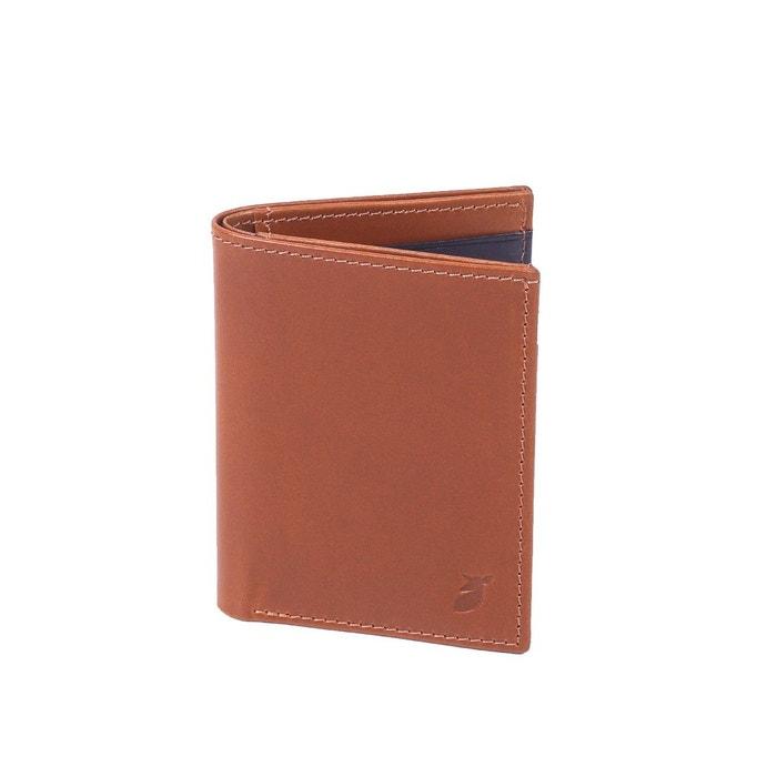 Porte cartes format livret en cuir lisse noir pied de for Format porte