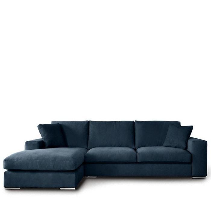 Canapé d angle gauche tissu pescara Drawer