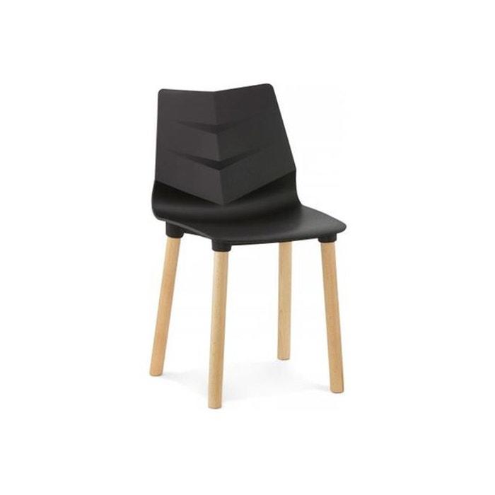 chaise scandinave noire vinsta declikdeco image 0 - Chaise Scandinave Noir