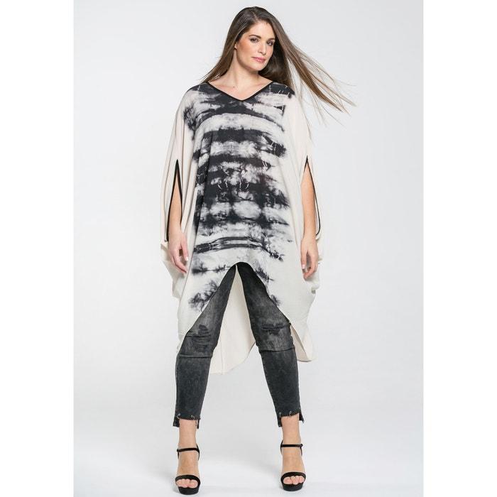 Tye Dye Printed Tunic Dress  MAT FASHION image 0