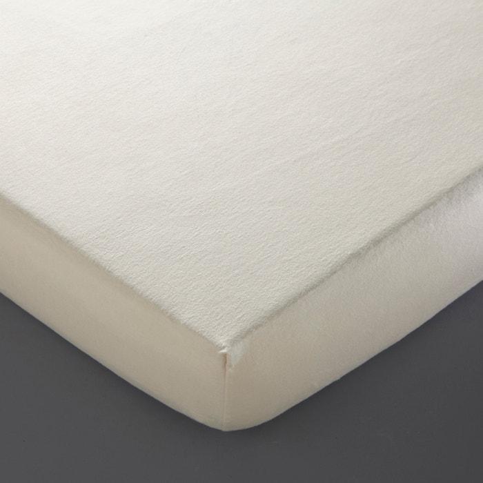 Protector de colchón de felpa de algodón biológico  La Redoute Interieurs image 0