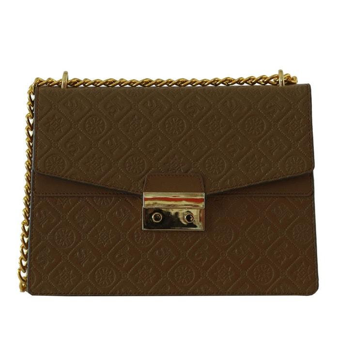 Sac à main et sac en bandoulière en cuir marron or Silvio Tossi | La Redoute Pas Cher Confortable Sortie Professionnelle haYoHC