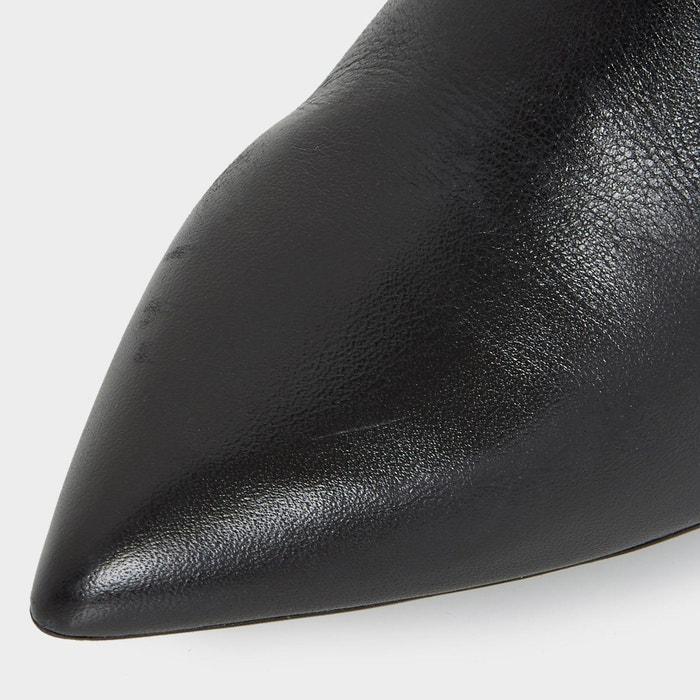 Bottes mi-mollet froncées à bout pointu - reenie Dune London