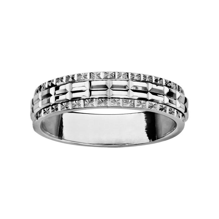 Sortie Nice Bague alliance 5 mm diamanté argent 925 couleur unique So Chic Bijoux | La Redoute Obtenir Authentique La Sortie Peu Coûteux uI0ZWM09