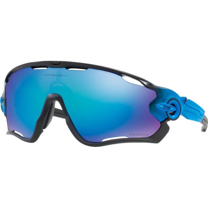 jawbreaker lunettes cyclisme bleu noir bleu oakley. Black Bedroom Furniture Sets. Home Design Ideas