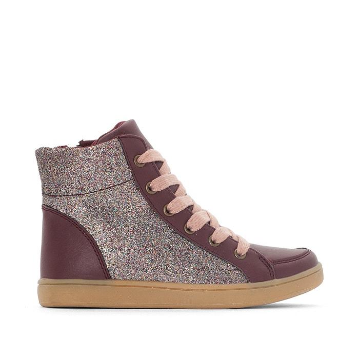 afbeelding Sneakers met pailletten La Redoute Collections