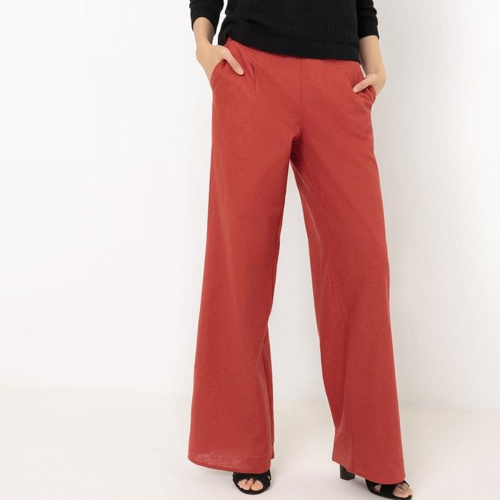 Image Pantalon large, coton/lin R édition