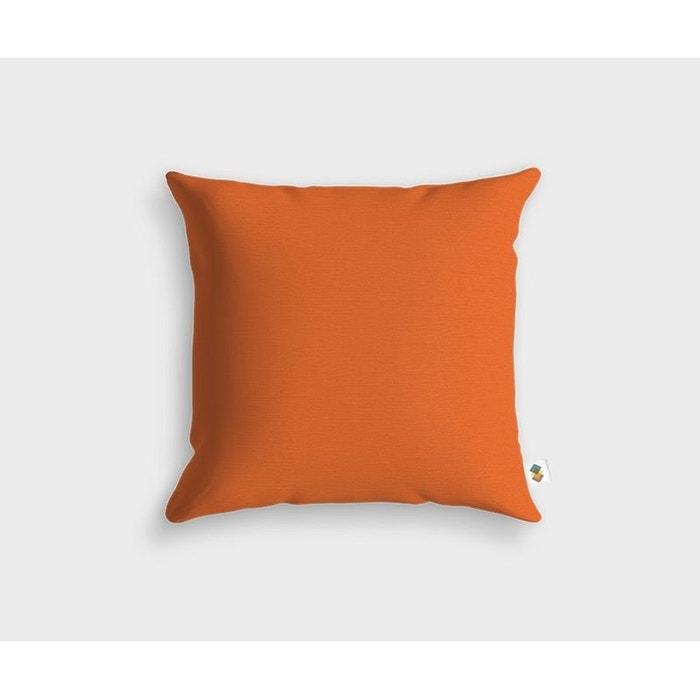 coussin basic cuivre 45x45cm bleu nuit housse de coussin la redoute. Black Bedroom Furniture Sets. Home Design Ideas
