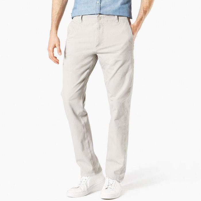 Pantalon chino slim tapered stretch smart 360 flex beige clair Dockers   La  Redoute 9e54f5efe762