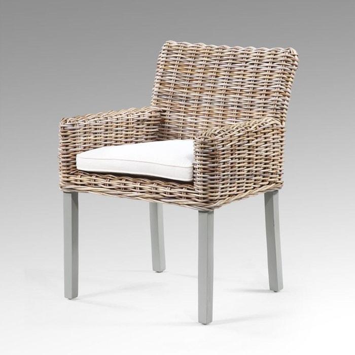 fauteuil rotin kubu couleur unique kha home design la redoute. Black Bedroom Furniture Sets. Home Design Ideas