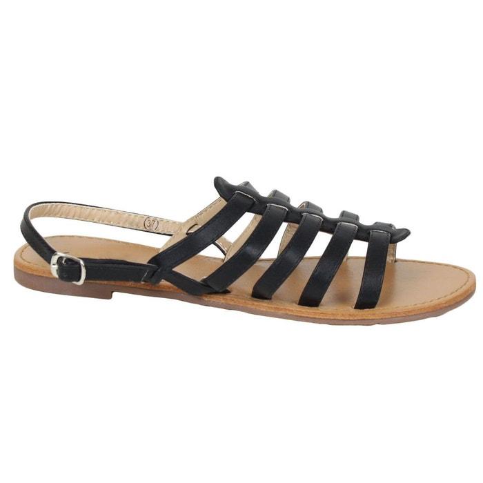 Sandales 8839-56a noir Kebello