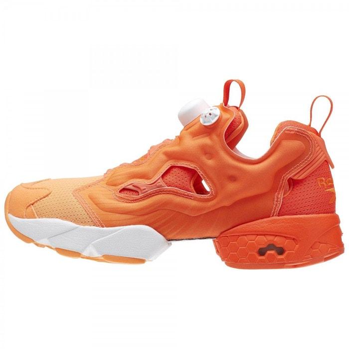 Basket instapump fury og  orange Reebok  La Redoute