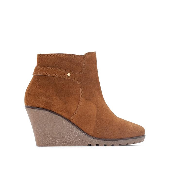 Image Boots croûte de cuir CASTALUNA