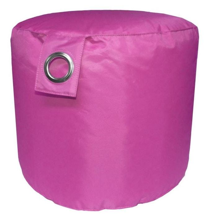 pouf int rieur ext rieur en polyester side jardindeco la redoute. Black Bedroom Furniture Sets. Home Design Ideas