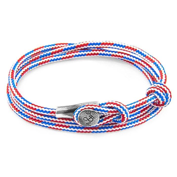 Vente En France Bracelet dundee argent et corde Anchor & Crew   La Redoute Prix De Liquidation original 769yU4qH8
