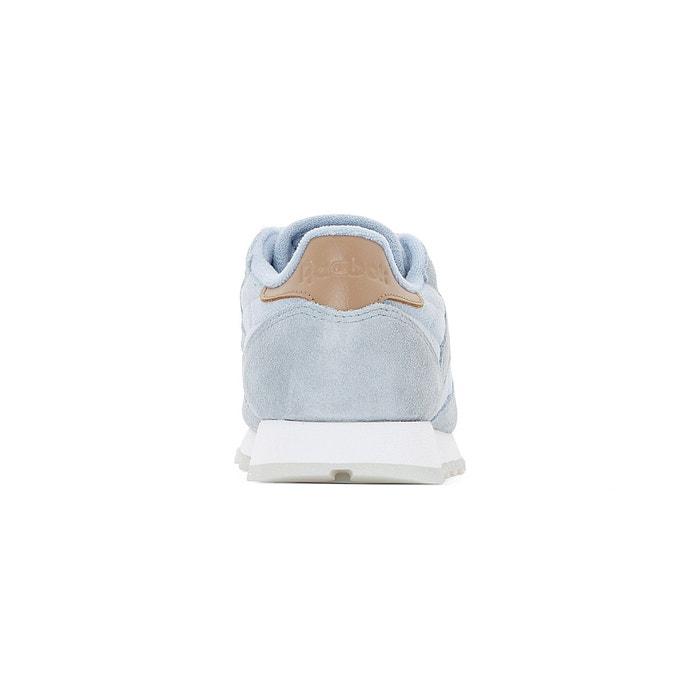 Baskets cl lthr sea-worn gris bleuté Reebok