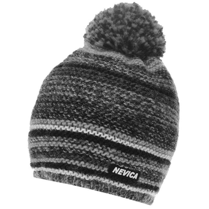 e7b152c185d4 Chapeau de ski bonnet polaire noir, gris Nevica   La Redoute