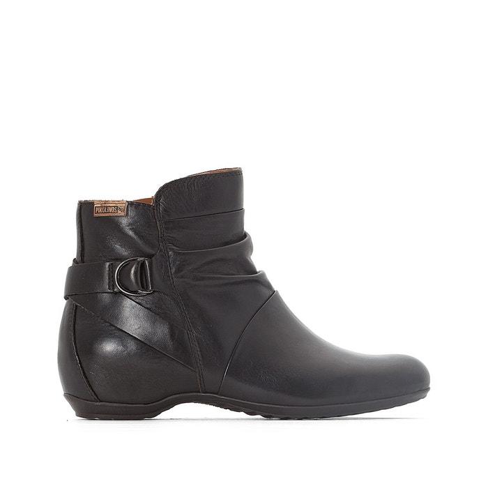 Boots cuir venezia 968 noir Pikolinos Acheter Pas Cher Obtenir Authentique Plus Grande Vente De Fournisseurs En Ligne particulier hHoqNLO
