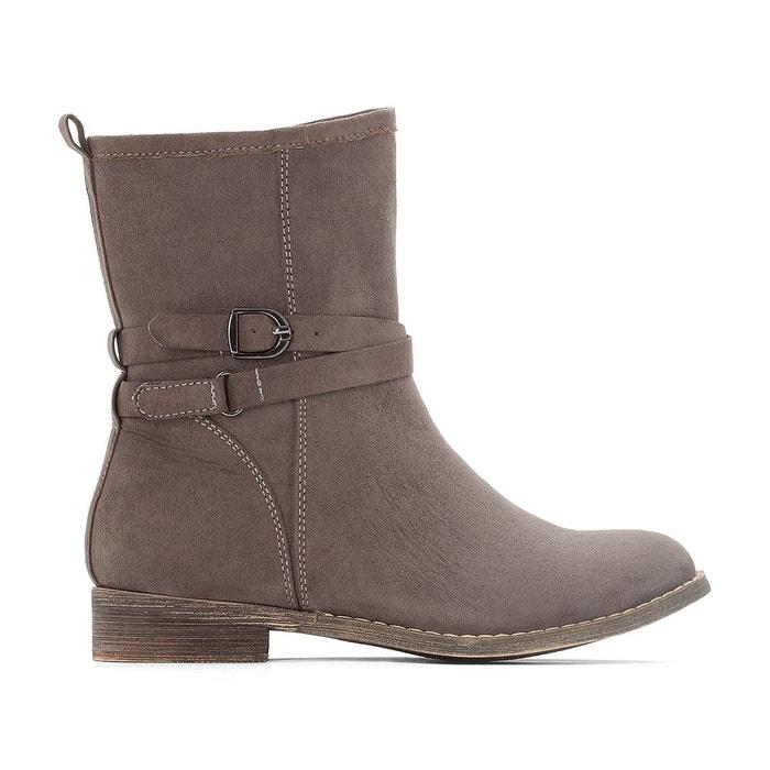 Boots avec boucle 28-35 La Redoute Collections
