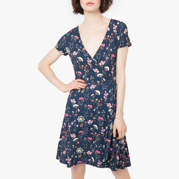esprit robe bleu et blanc la redoute