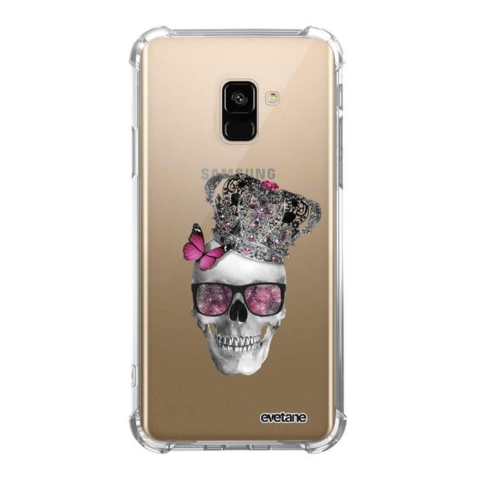 coque galaxy a8 skull