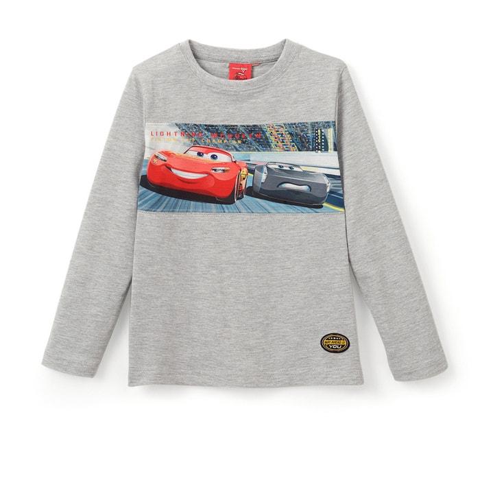 Image T-shirt manches longues imprimé Cars 2-10 ans CARS
