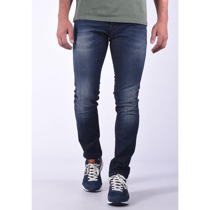 Jean double ceinture à détail camouflage aston Kaporal   La Redoute 0ed518e80ac