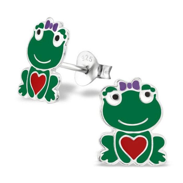 Enfant boucles d 39 oreilles grenouille email couleur argent 925 couleur unique so chic bijoux la - La redoute contact mail ...