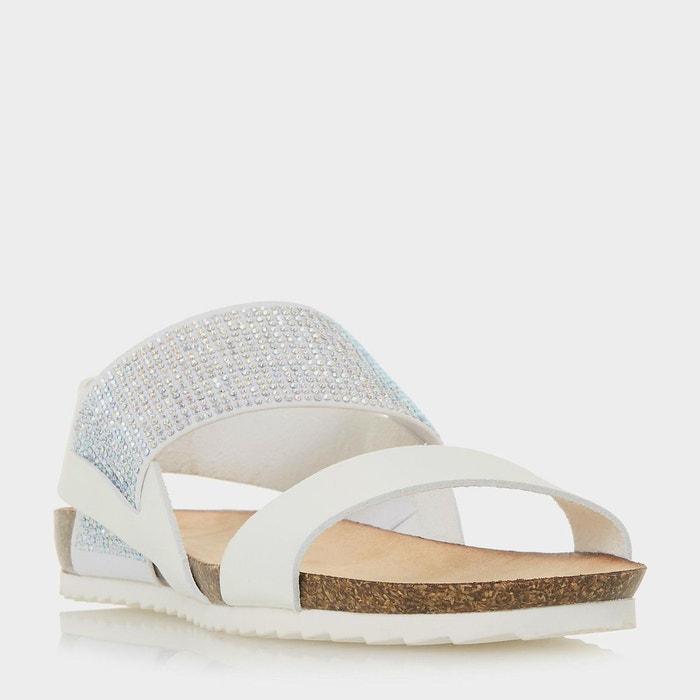 Sandales plates à bride élastique - LAURELLA HEAD OVER HEELS BY DUNE