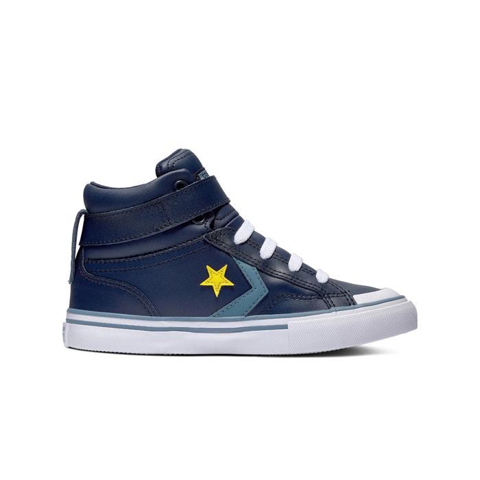 5967a7ea913 Hoge sneakers pro blaze strap blauw Converse   La Redoute