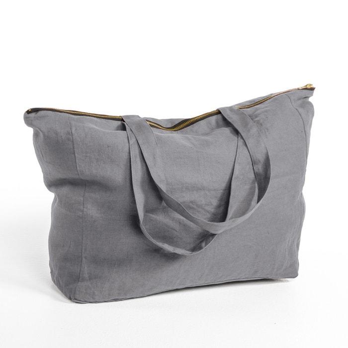 Elina Linen Zip-Up Bag  AM.PM. image 0