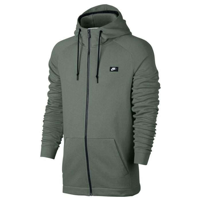 Sweat à capuche kaki clair Nike   La Redoute 8665a8cc4148