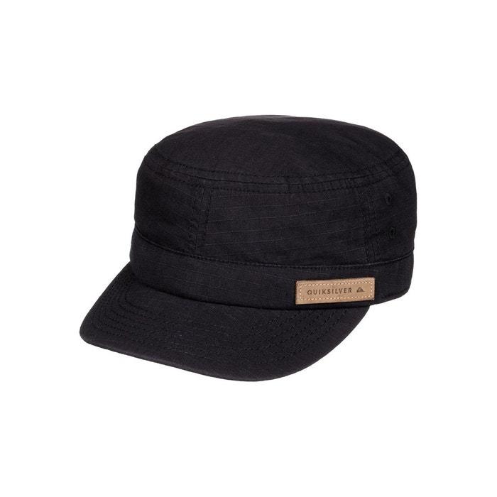 Casquette militaire renegade noir black Quiksilver   La Redoute 9907d1dd853