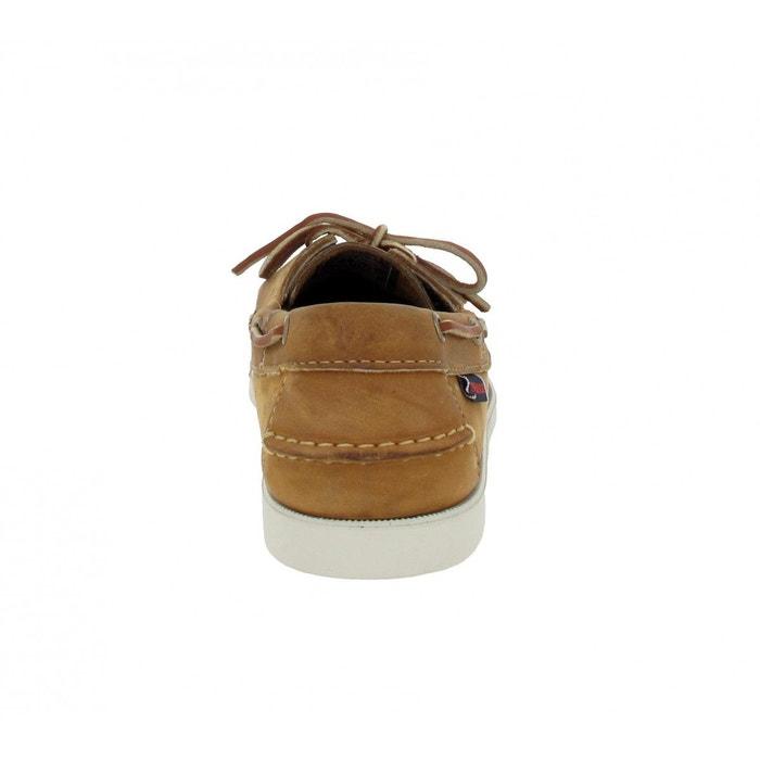 Chaussures bateaux homme sebago docksides cuir homme brun brun Sebago