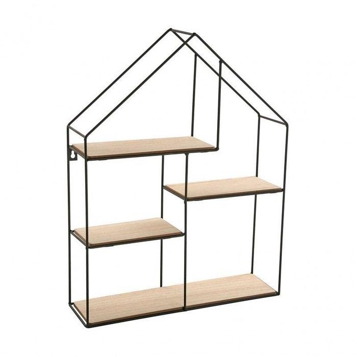 etag re murale en forme de maison et versa marron versa la redoute. Black Bedroom Furniture Sets. Home Design Ideas