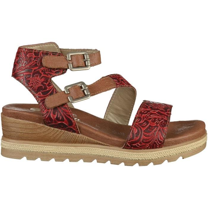Sandales rouge Remonte