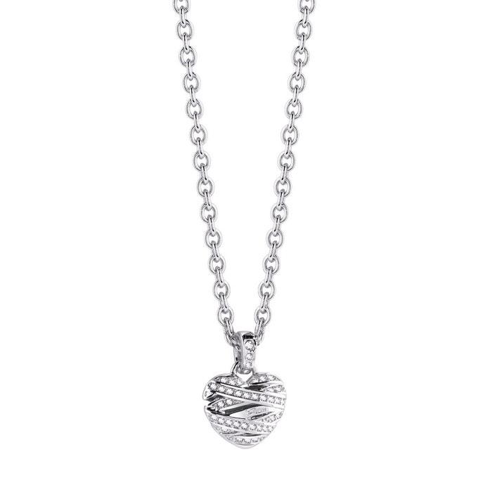Collier métal blanc Guess | La Redoute Dates De Sortie Rabais 0Km1Gvb2Q
