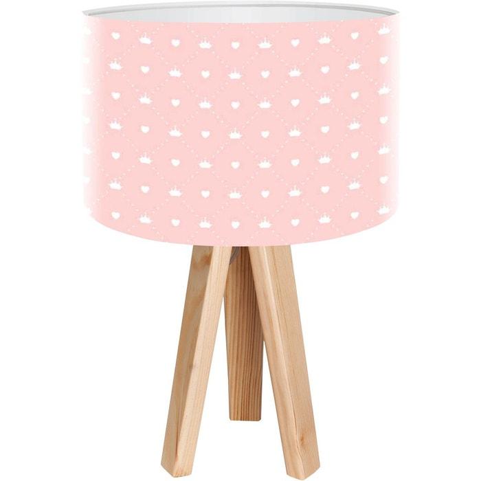 lampe de chevet kids rose bps koncept la redoute. Black Bedroom Furniture Sets. Home Design Ideas