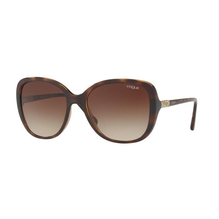 Lunettes de soleil vo5154sb marron foncé Vogue | La Redoute Style De Mode Rabais 6hee4CSViv