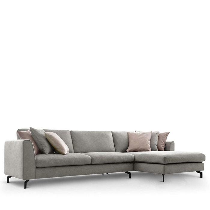 Canapé d\'angle droit en tissu linate Drawer | La Redoute