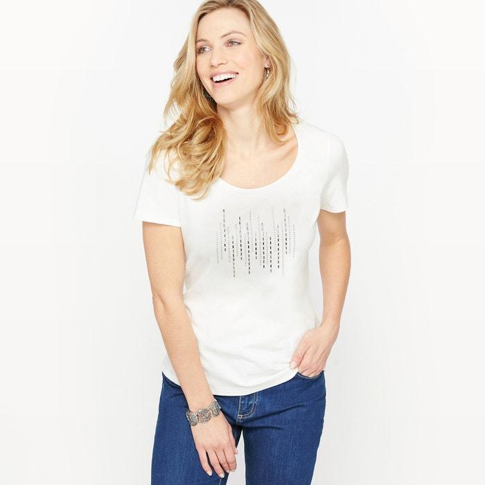 T-shirt con scollo rotondo tinta unita, maniche corte  ANNE WEYBURN image 0