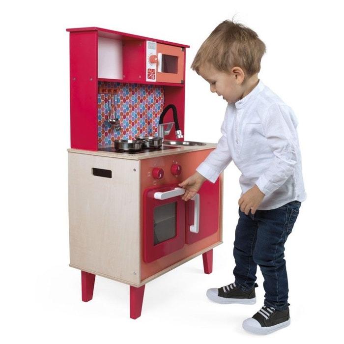 grande cuisine spicy bois jurj06573 rouge janod la redoute. Black Bedroom Furniture Sets. Home Design Ideas