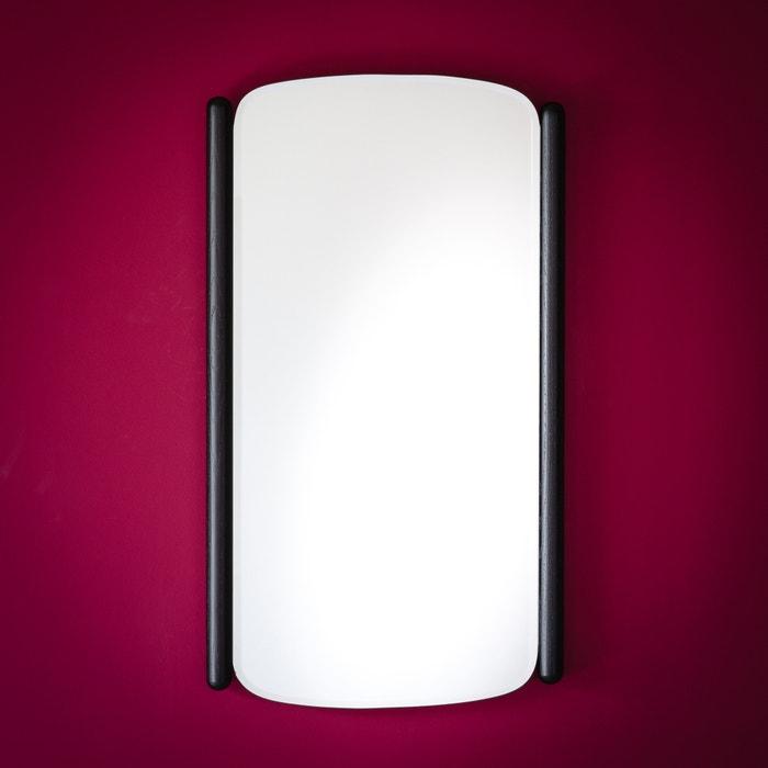 Maison sarah lavoine black stained oak mirror black - La redoute linge maison ...
