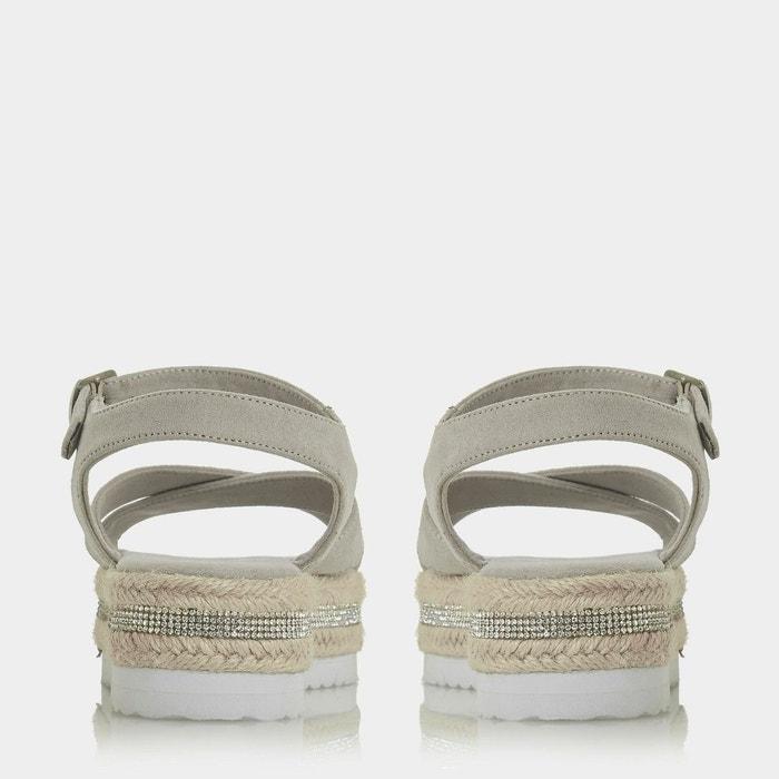 à OVER DUNE plateformes Sandales BY semelles avec HEELS KRYSSTAL espadrilles style HEAD KRYSSTAL UdvqU