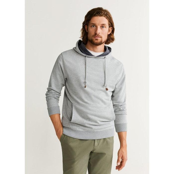Sweat shirt kangourou capuche
