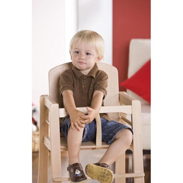 chaise haute b b mucki naturel geuther couleur unique geuther la redoute. Black Bedroom Furniture Sets. Home Design Ideas