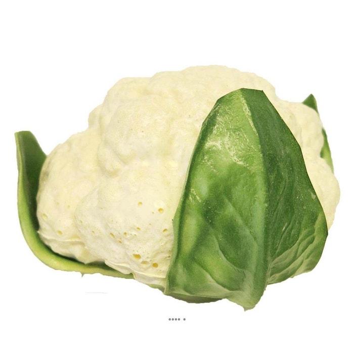 Choux fleur artificiel legume en mousse pu d 14 cm vert for Palmier factice