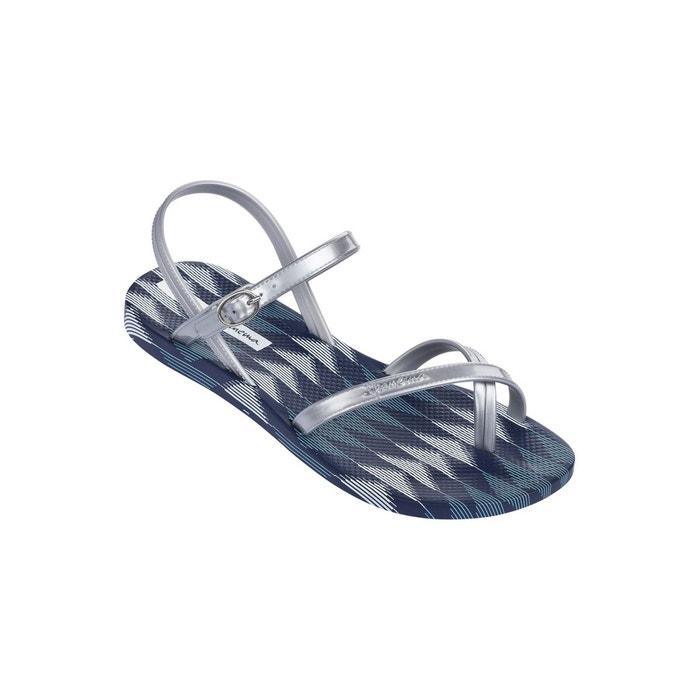 Sandales enfant fashion sand iv marine et argenté marine Ipanema
